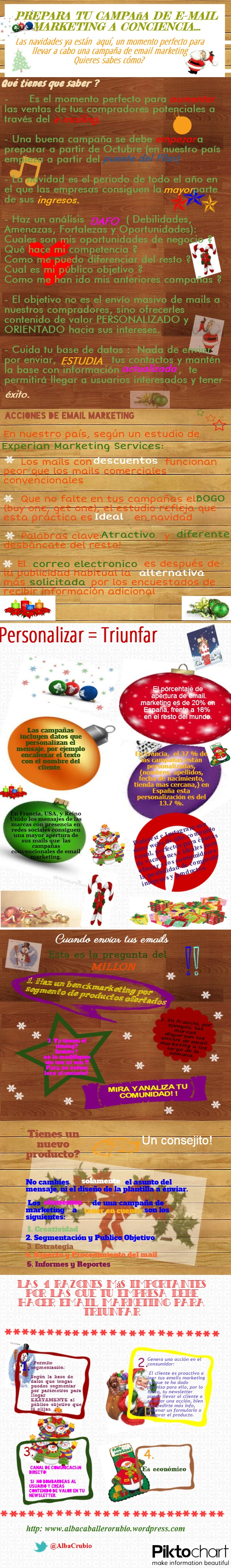 Infografia-Email marketing en Navidad